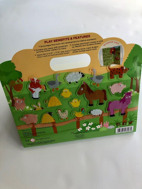 Mrs. Grossman's Peel & Play Activity Set - Barnyard