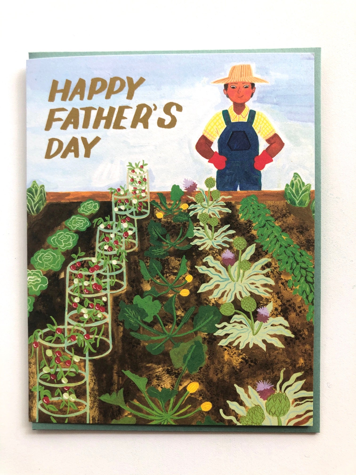 Happy Father's Day Farmer Card
