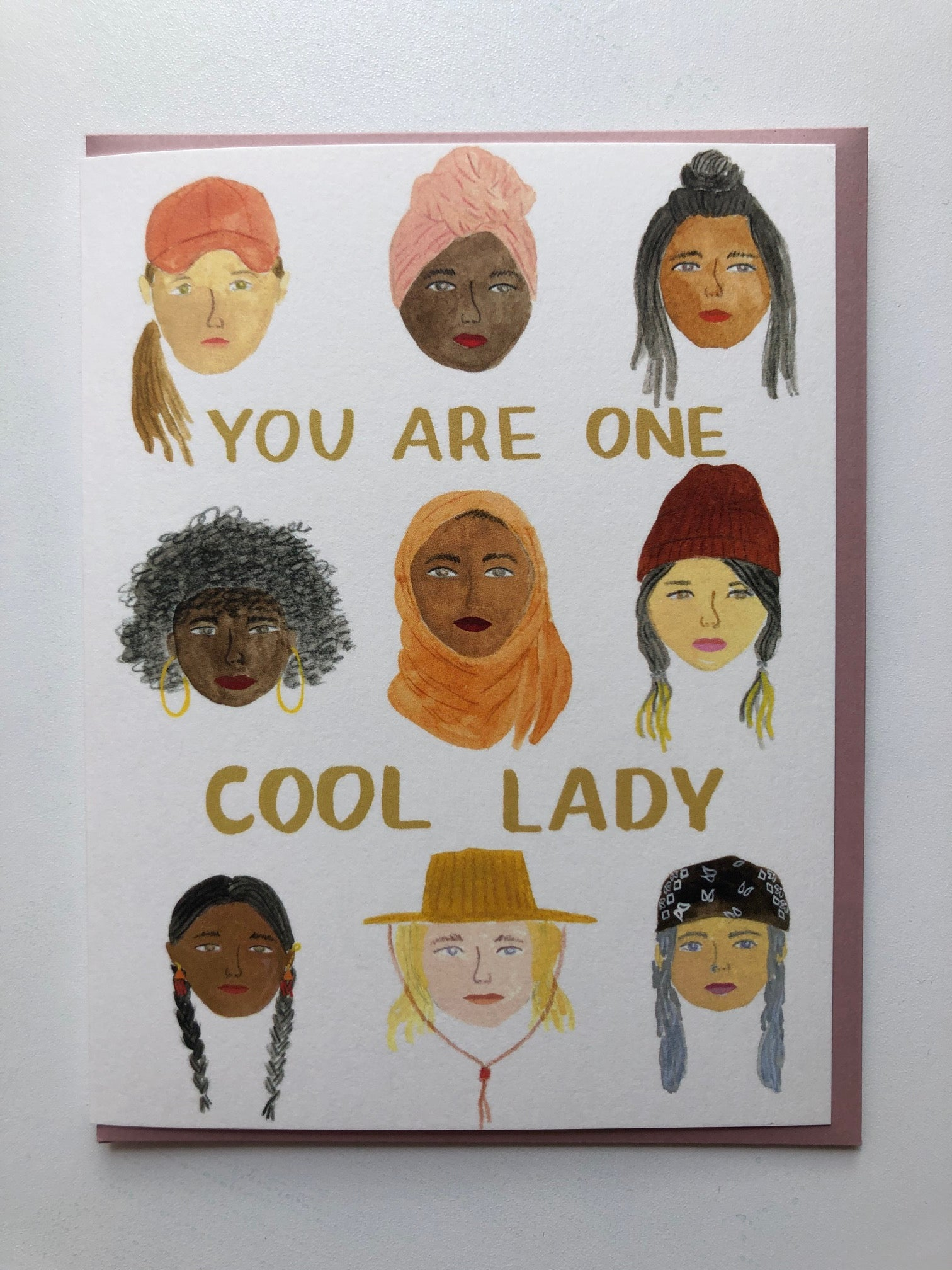 You Are One Cool Lady Card