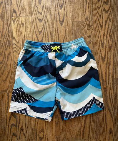 Tea Collection Make Waves Swim Trunks - Indigo