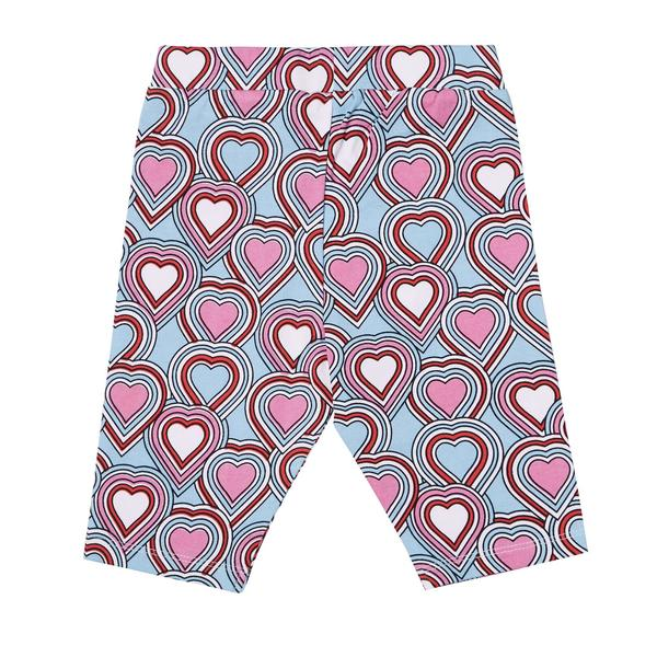 Art & Eden Organic Cotton Jada Short - Heart Beat