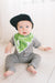 Copper Pearl Bandana Bib (Set of 4) - Noah