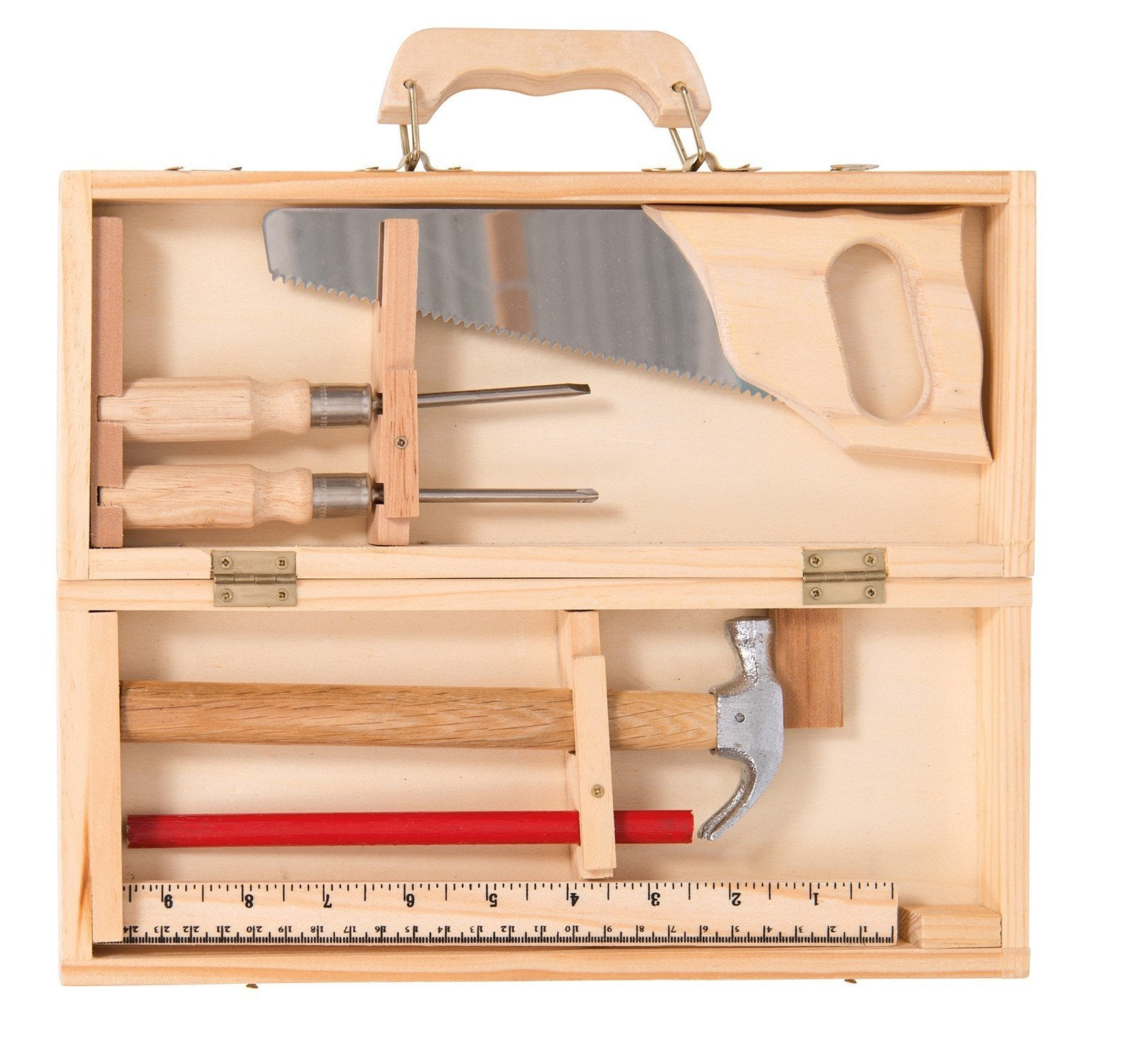 Moulin Roty Small Wooden Tool Box Set
