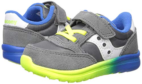 Saucony Baby Jazz Lite - Grey/Blue