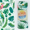 Luv Bug Hooded Sunscreen Towel - Parrot & Tropical Leaf