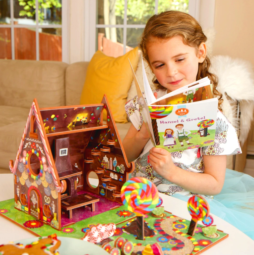 "Storytime Toys ""Hansel & Gretel"" Book and Play Set"