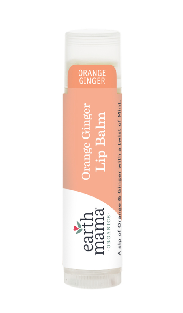 Earth Mama Organics Lip Balm - Orange Ginger