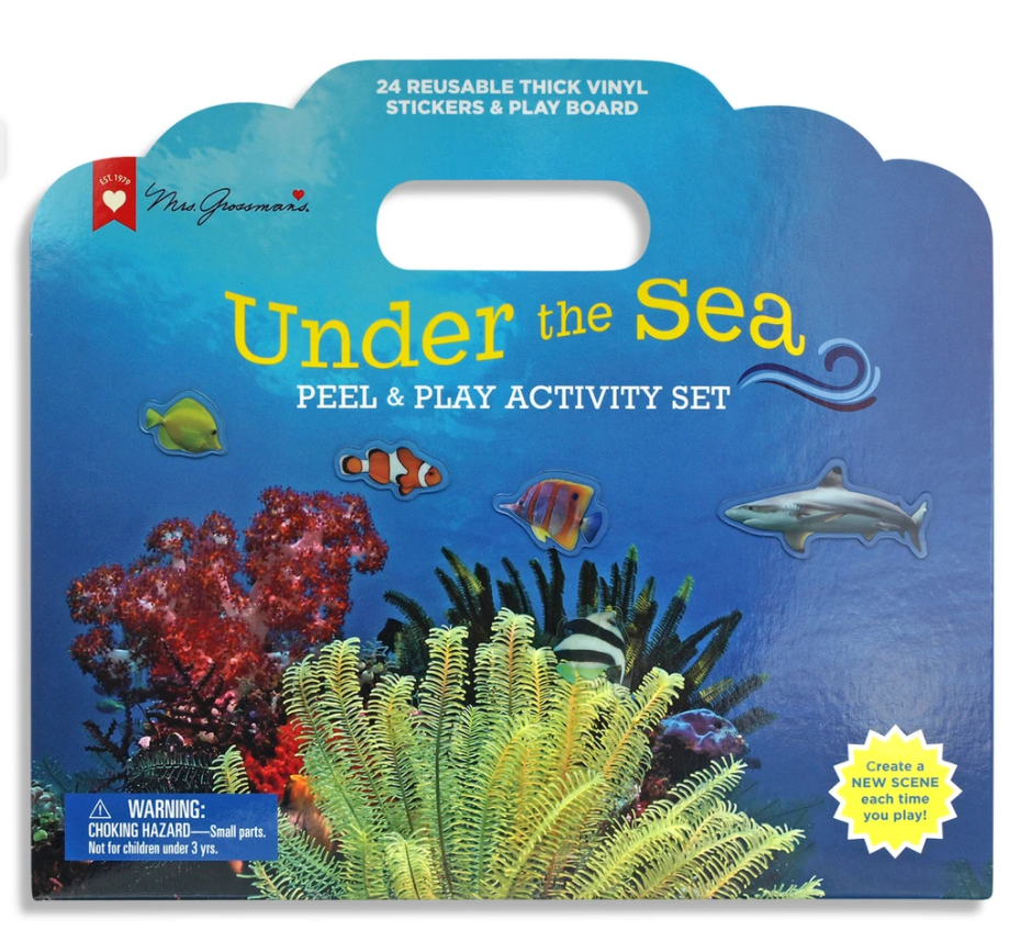 Mrs. Grossman's Peel & Play Activity Set - Under The Sea