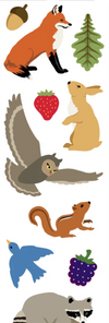 Mrs. Grossman's Stickers / Full sheet - Forest Animals