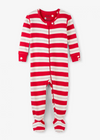 Hatley Metallic Stripe Footed Coverall