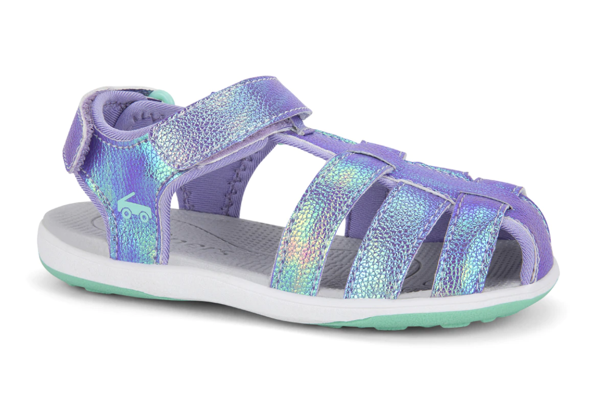 See Kai Run Paley Water Sandal - Purple Shimmer