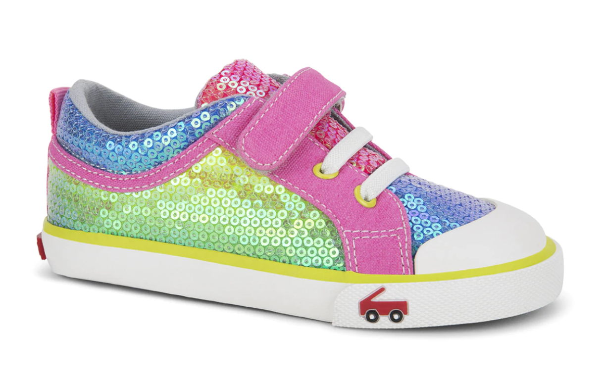 See Kai Run Kristin - Rainbow Sequins