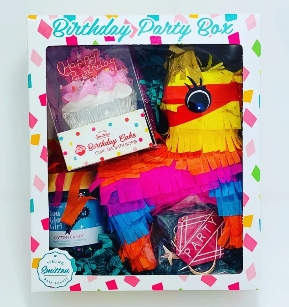 Feeling Smitten Birthday Party Box