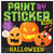 Paint by Sticker Book - Halloween