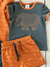 Müsli Organic Cotton Rhino Baby Shorts in Ocher