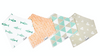 Copper Pearl Bandana Bib (Set of 4) - Pacific