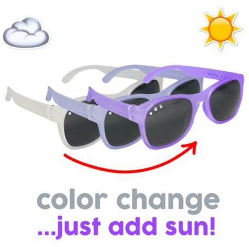 Roshambo Sunglasses Willy Wonka Color Changing Purple