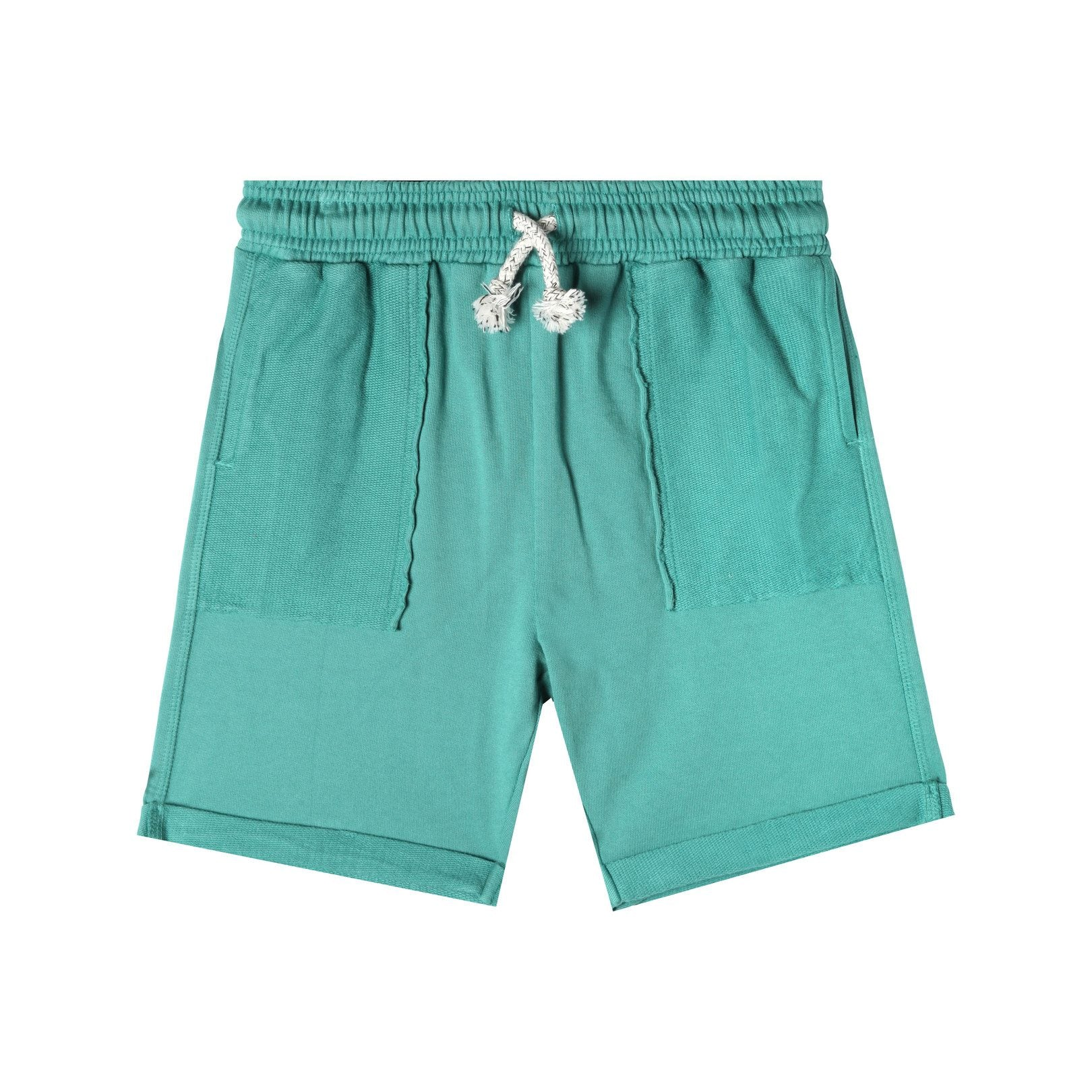 Art & Eden Organic Cotton Bermuda Short - Teal Green