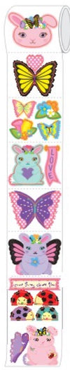 Mrs. Grossman's Sticker Friends - Butterfly Bunny