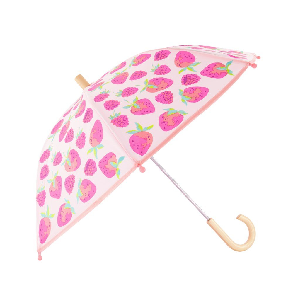 Hatley Umbrella - Delicious Berries (Clear)