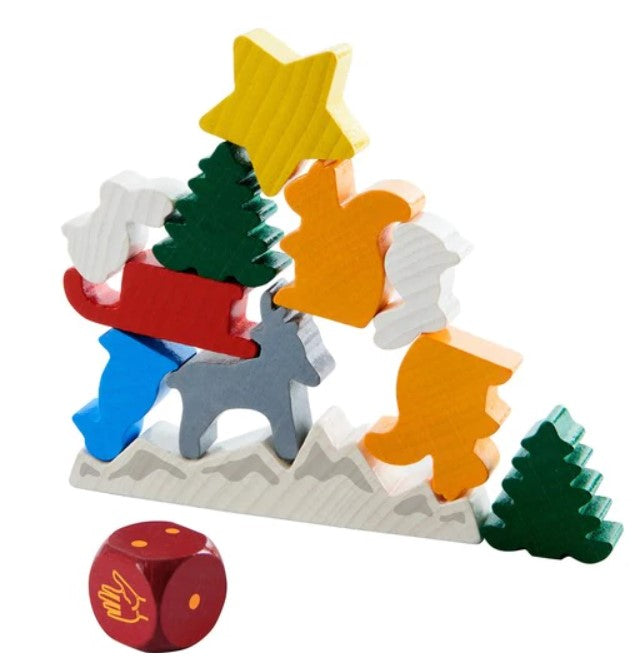 HABA Animal Upon Animal - A Christmas Stacking Game
