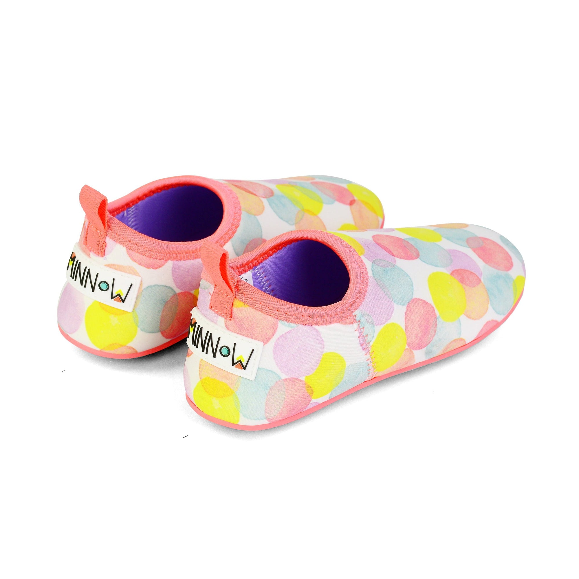 Minnow Flex Sole Swimmable Shoes - Dotty