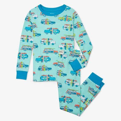 Hatley Surfs Up Organic Cotton Pajama Set
