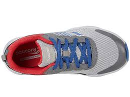 Saucony Wind - Grey/Blue/Red