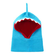 ZOOCCHINI Baby / Toddler Knit Balaclava Hat - Shark