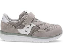 Saucony Baby Jazz Lite - Grey/White