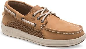 Sperry Gamefish Boat Shoe - Dark Tan