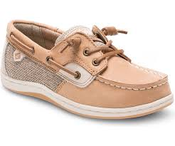 Sperry Songfish Boat Shoe - Linen/Oat