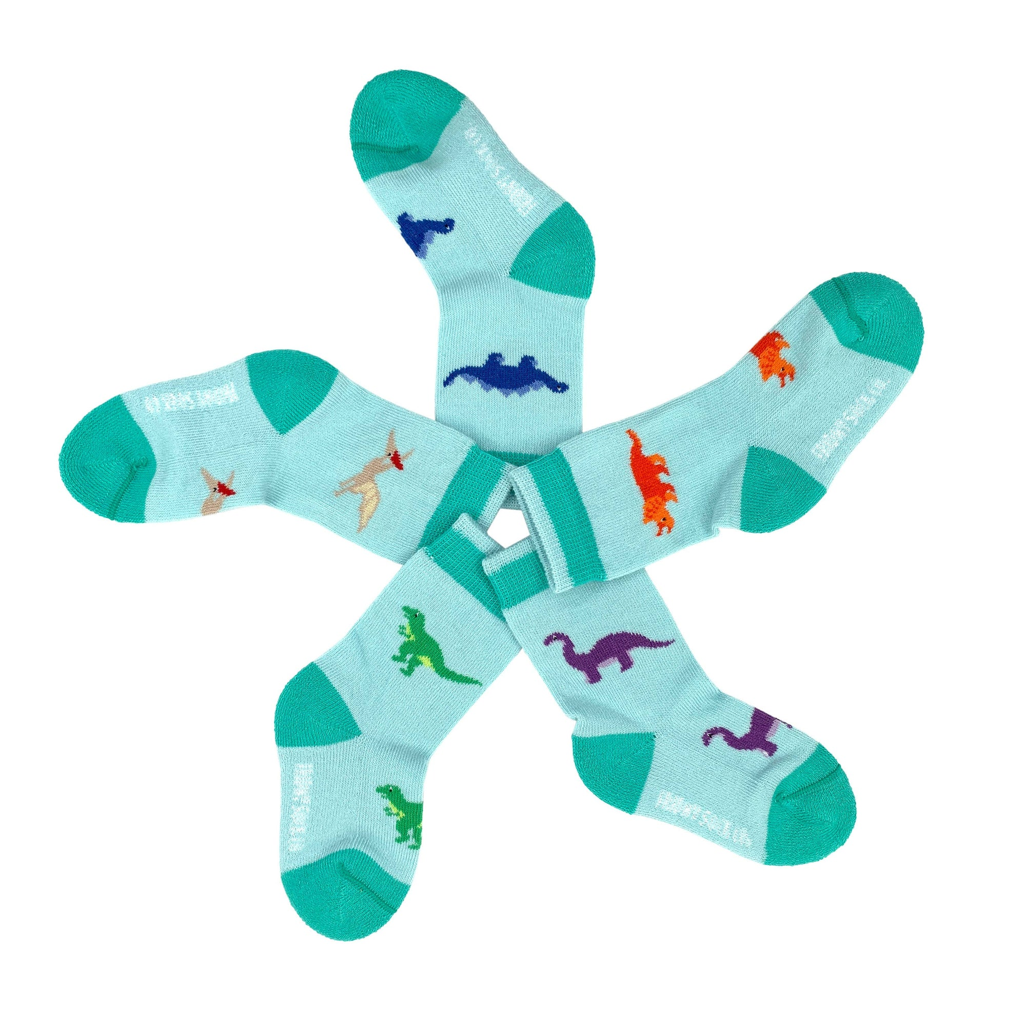 Friday Sock Co. Baby Socks | Dinosaur | Mismatched | Infant - 3m-1y