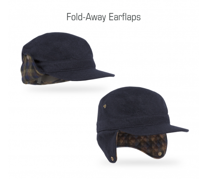 Sunday Afternoons Mountain Time Radar Hat - Darkest Navy