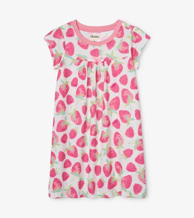 Hatley Delicious Berries Organic Cotton Short Sleeve Nightdress
