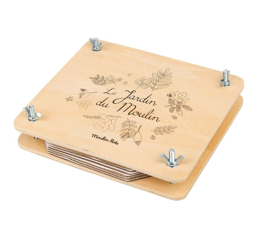 Moulin Roty Le Jardin Flower Press Set