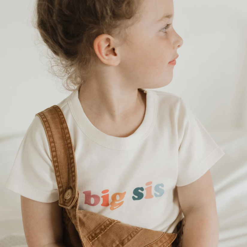 Finn & Emma Graphic Tee - Big Sis