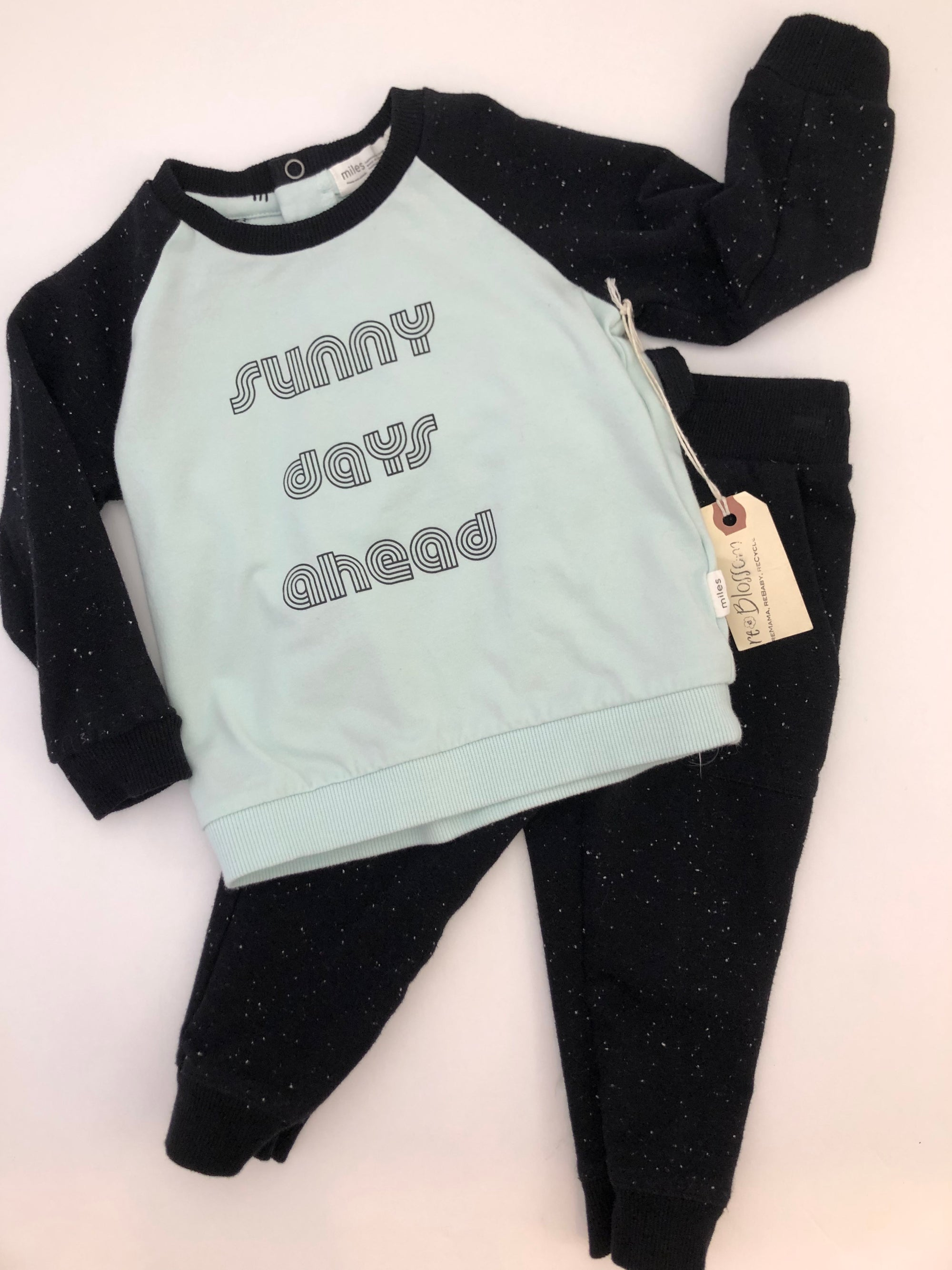 Resale 18 m Miles Baby Sunny Days Ahead Pullover & Pants Set