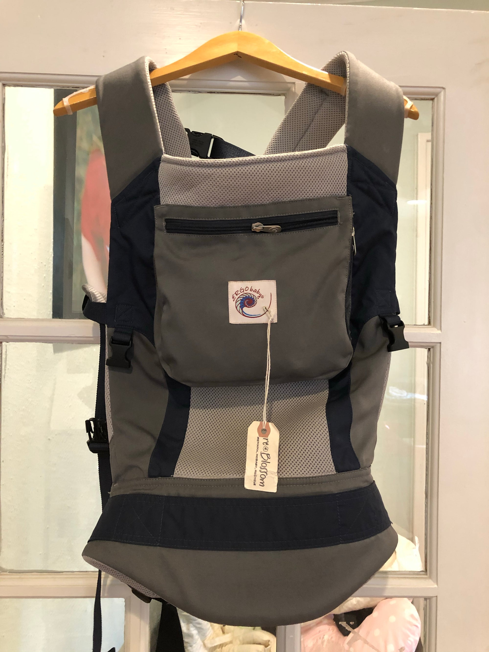 Resale Ergobaby Performance Baby Carrier - Navy Grey