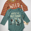 Resale 6-9m Where the Wild Things Are Bodysuits, Set of 2