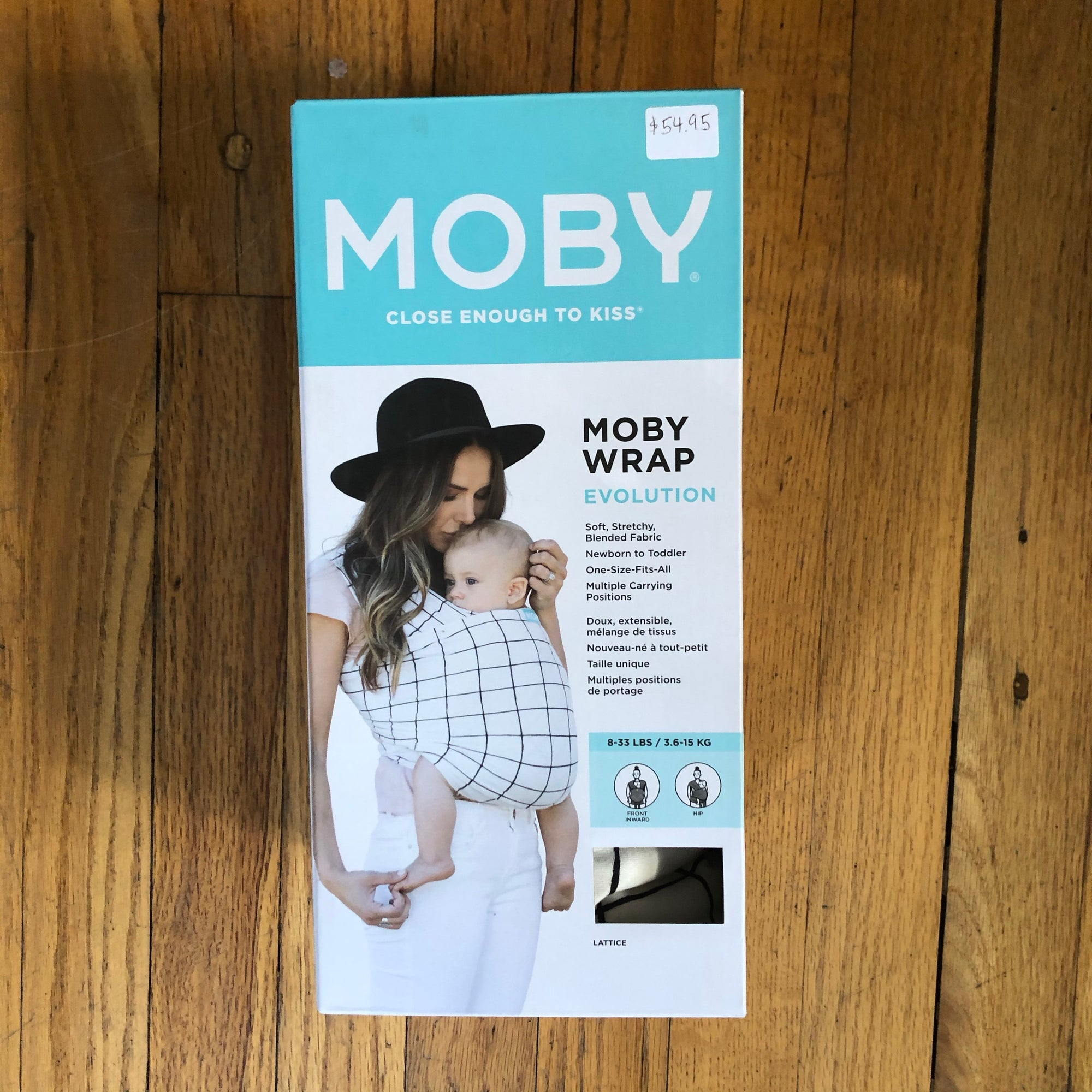 Moby Evolution Wrap - Lattice
