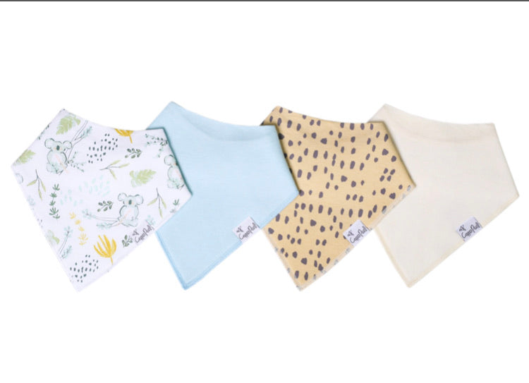 Copper Pearl Bandana Bib (Set of 4) - Aussie