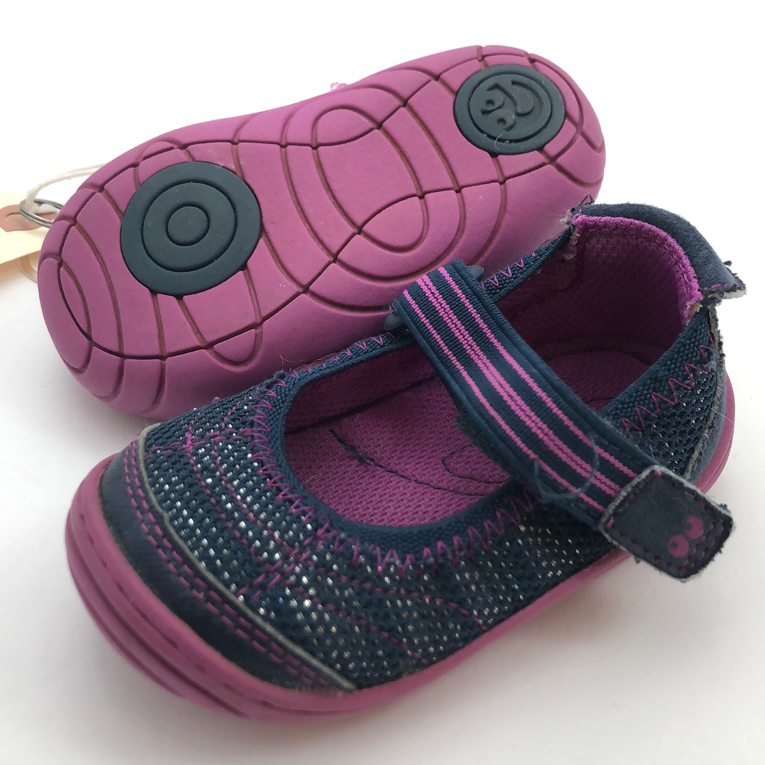 Resale C4 Surprize by Stride Rite Purple Soft Motion-like Mary Jane Shoes