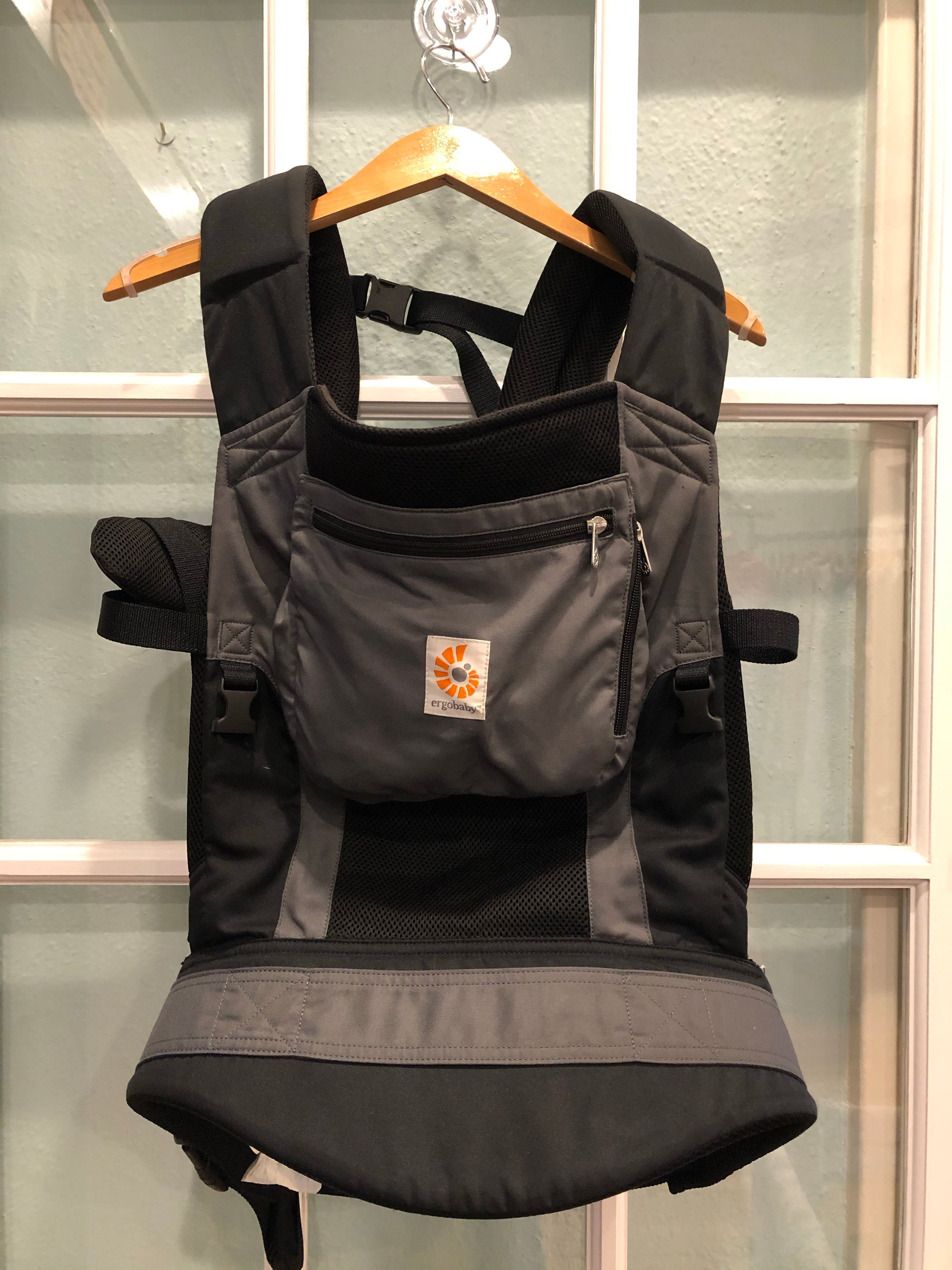 Resale Ergobaby Performance Baby Carrier - Charcoal Grey