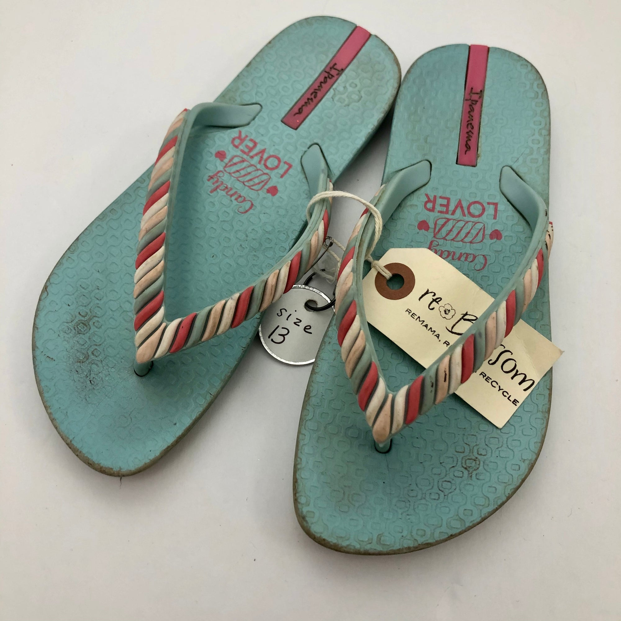 C13 Resale Ipanema Candy Lover Flip Flop Sandals