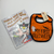 Resale First Halloween Bib & Book Bundle
