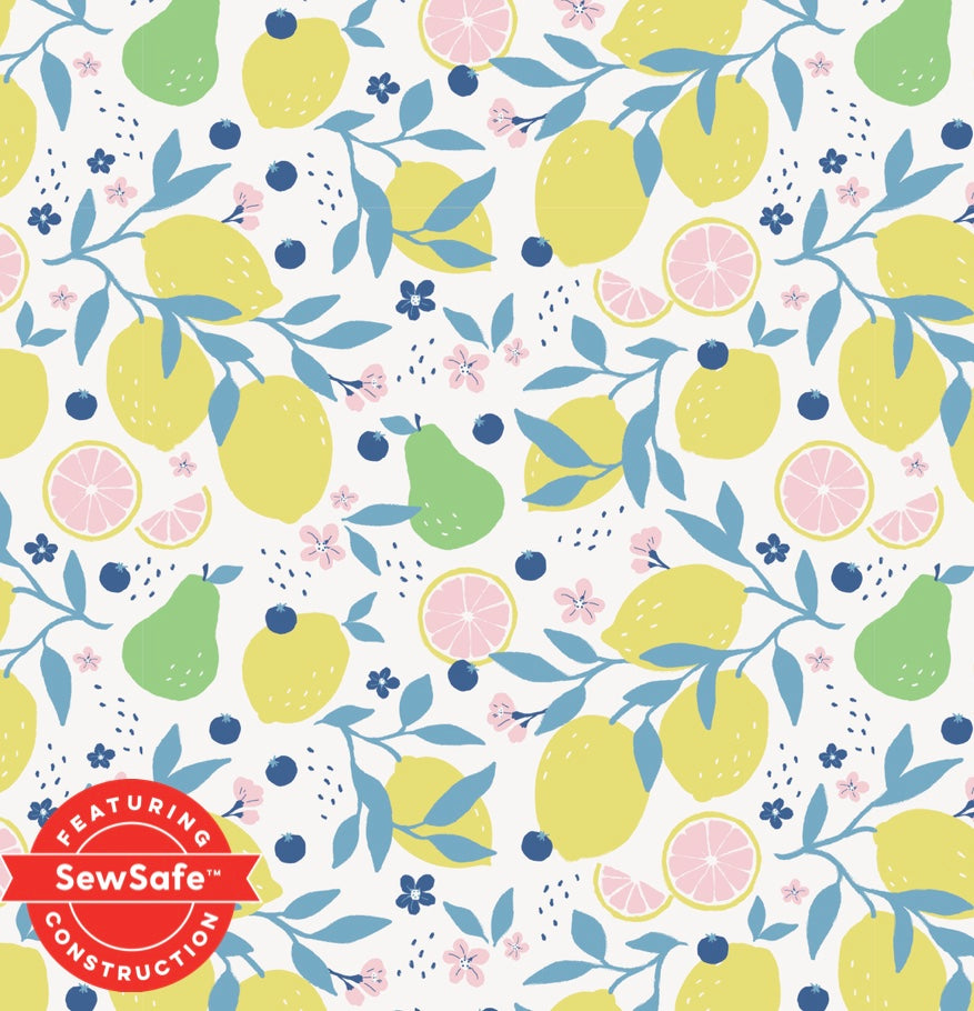 Magnetic Me Organic Cotton Magnetic Footie - Citrus Bloom