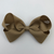 Bows for Belles Large Solid Bow - Khaki
