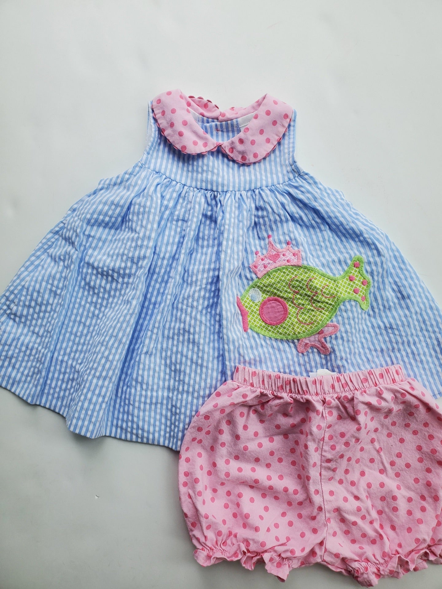 Resale The Bailey Boys Fish Dress 9m
