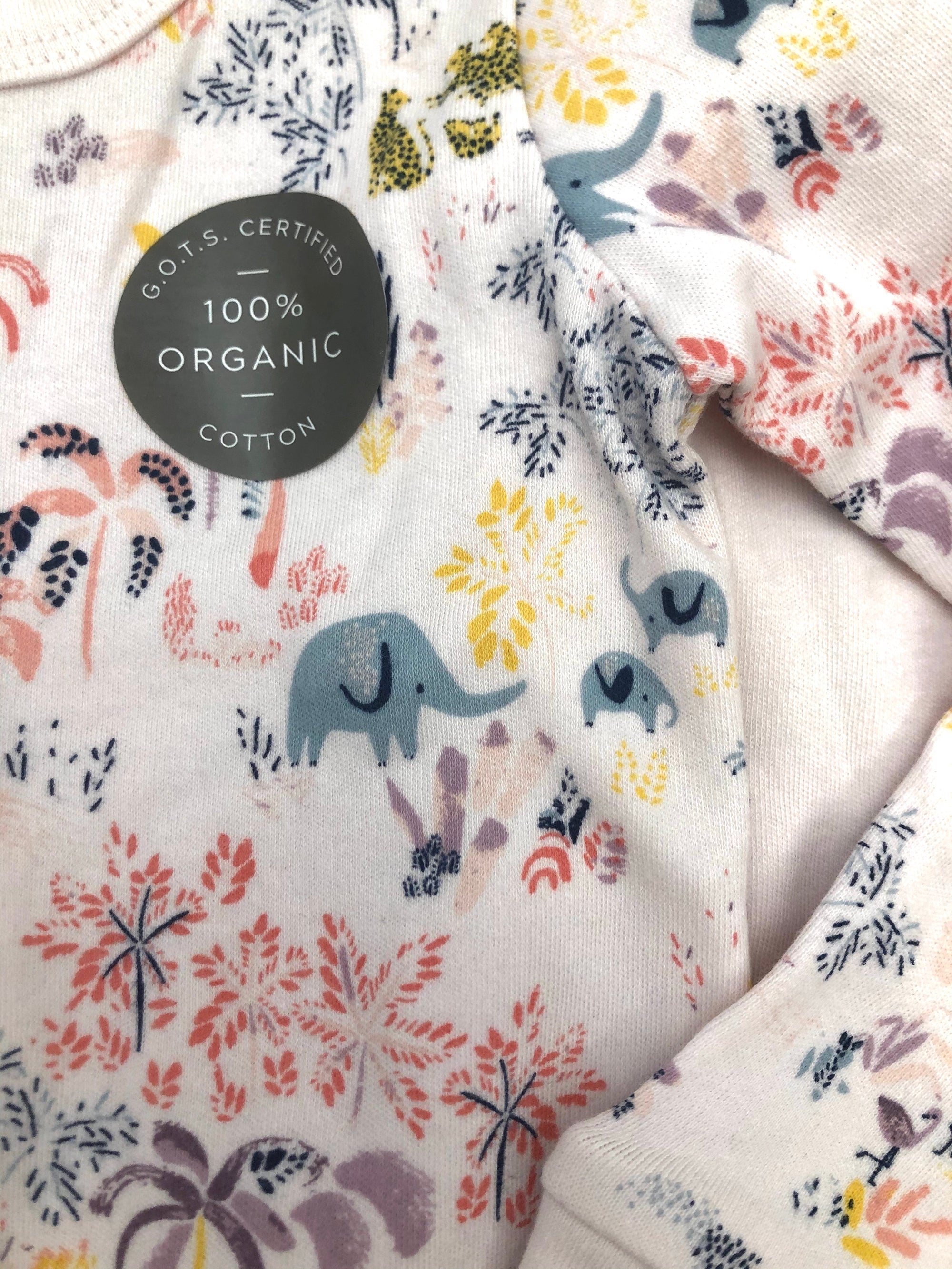 Finn + Emma 2 pc Organic Cotton Pajamas Set - Savanna